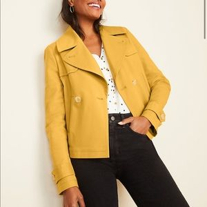 Jackets & Blazers - Short Trench Coat